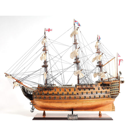 HMS VICTORY COPPER BOTTOM Model T212 by Old Modern Handicrafts-Models-Floor Mirror Gallery