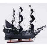 Black Pearl Pirate Ship Model T295 by Old Modern Handicrafts-Models-Floor Mirror Gallery