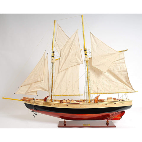 Bluenose II Painted L Model Y095 by Old Modern Handicrafts-Models-Floor Mirror Gallery