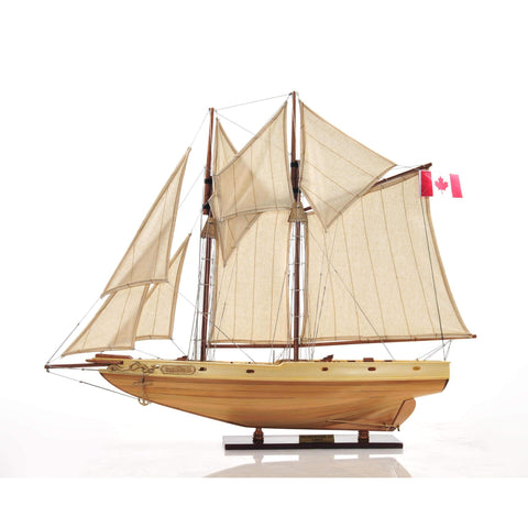 Bluenose II Fully Assembled Model Y211 by Old Modern Handicrafts-Models-Floor Mirror Gallery