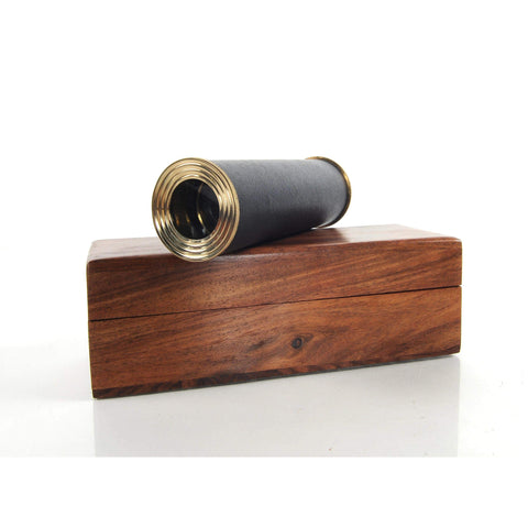 Handheld Telescope in wood box Model ND024 by Old Modern Handicrafts-Models-Floor Mirror Gallery