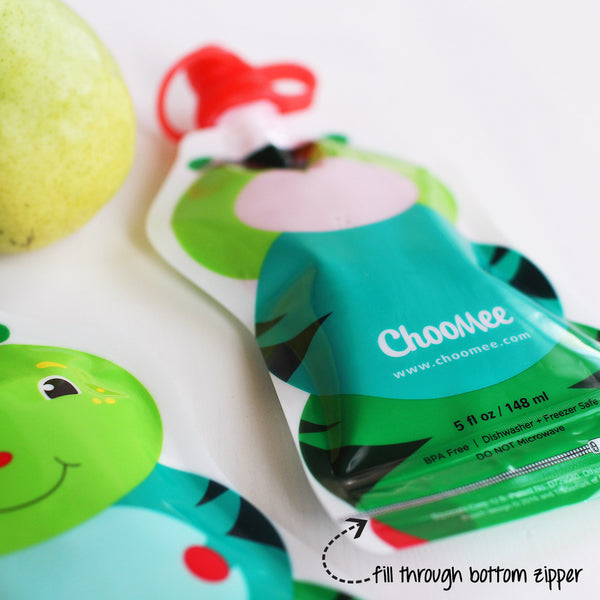 ChooMee Reusable Food Pouches (8 pack)