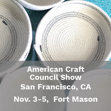 American Craft Council Show, San Francisco, Craft Show, Retail, 2018