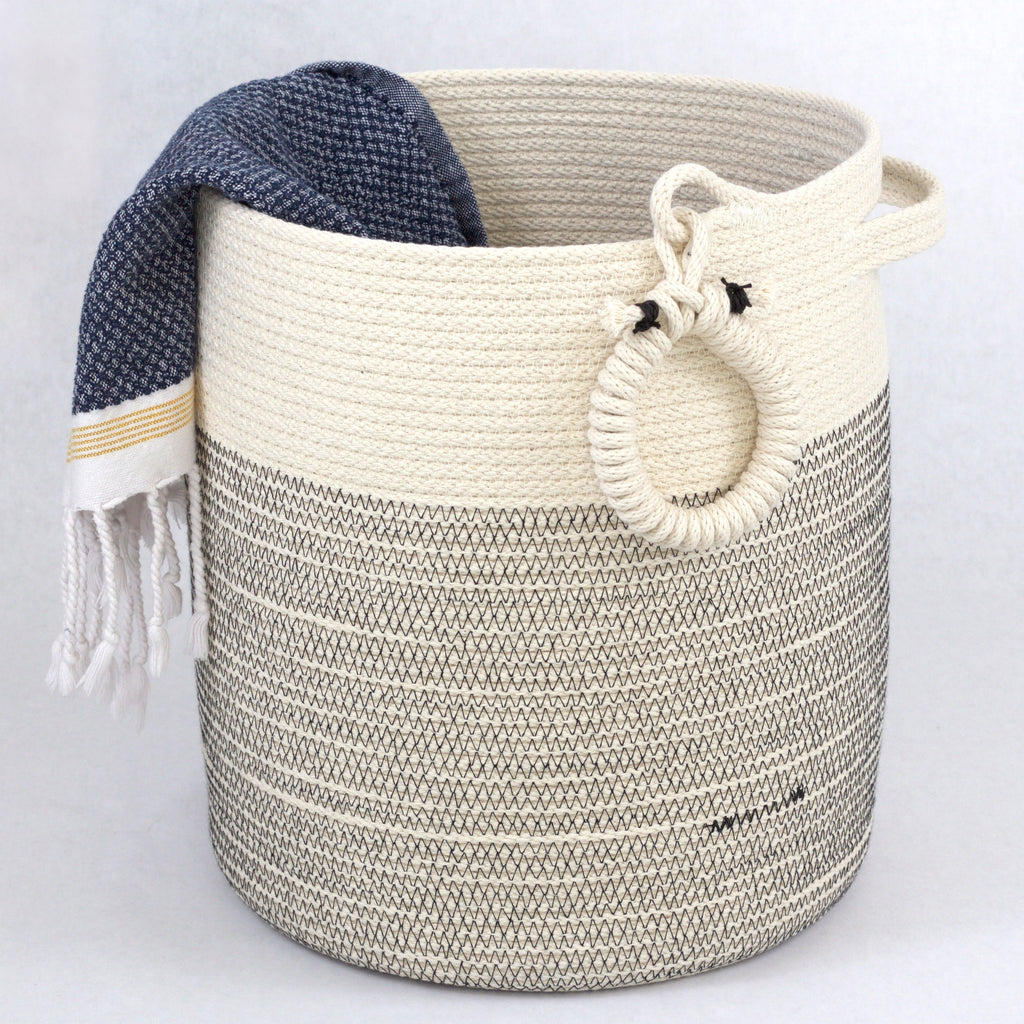 Spa baskets, one of a kind gift basket, coastal living style, yoga studio storage basket, yoga mat woven structured  basket, zen floor basket, minimalist basket, structured rustic modern floor basket, structured spa towel basket, luxury handmad