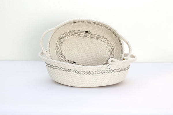 Oval Monterey Basket with Handles