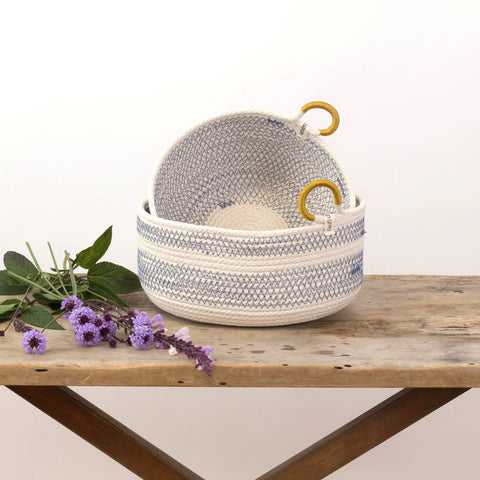 Coastal Blue Basket Collection