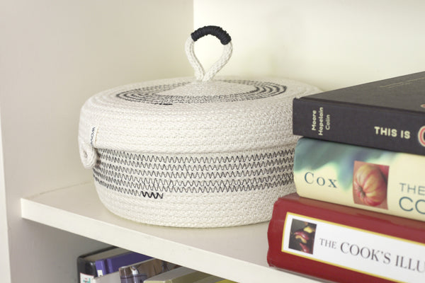 Lidded Monterey Basket