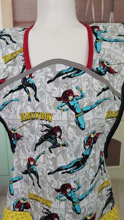 black widow - size large