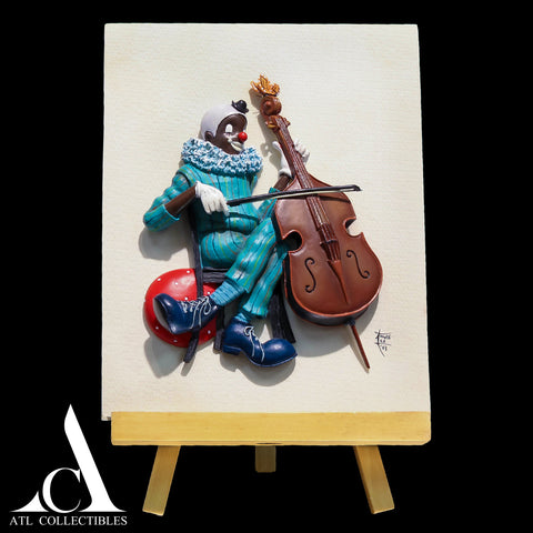 Standing Violin Clown
