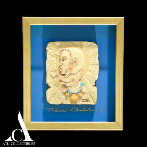 Thomas Blackshear Ebony Vision Summertime Bas-Relief Plaque