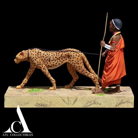 Thomas Blackshear Cheetah Walker First Issue Hand Signed (Not In Stock)