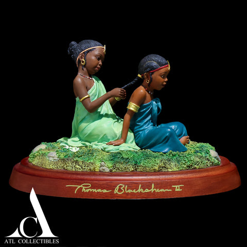 Thomas Blackshear Sisters In Childhood Limited Issue Hand Signed (Not In Stock)