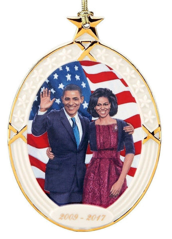 President Obama & First Lady Michelle Ornament Ebony Visions