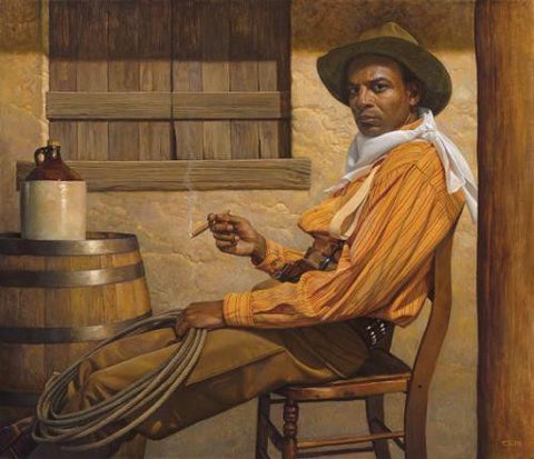 "Thomas Blackshear ""Texas Chilling"" Limited Edition"