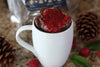 Chocolate Raspberry Mug Cake