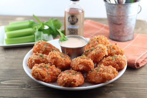 Cheesy Chicken Buffalo Bites