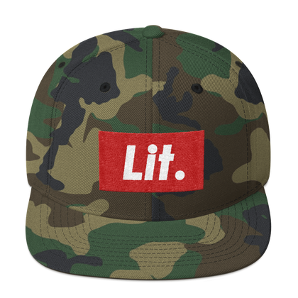 DOWNTOWN LIT SNAPBACK
