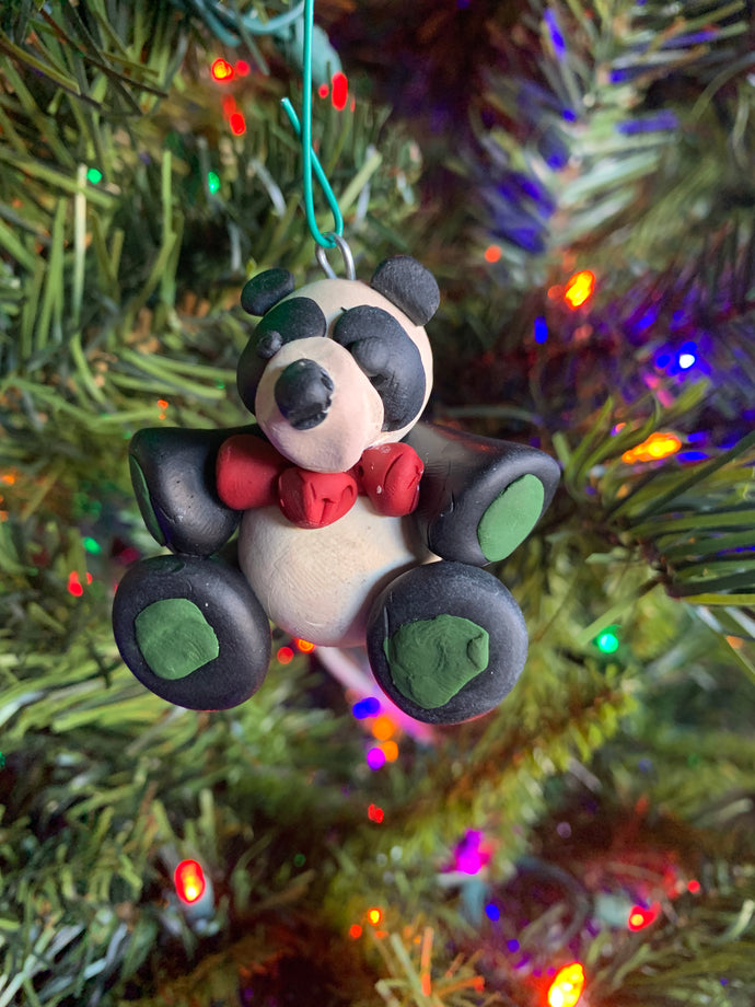 Free Art For All - Panda Bear Ornament