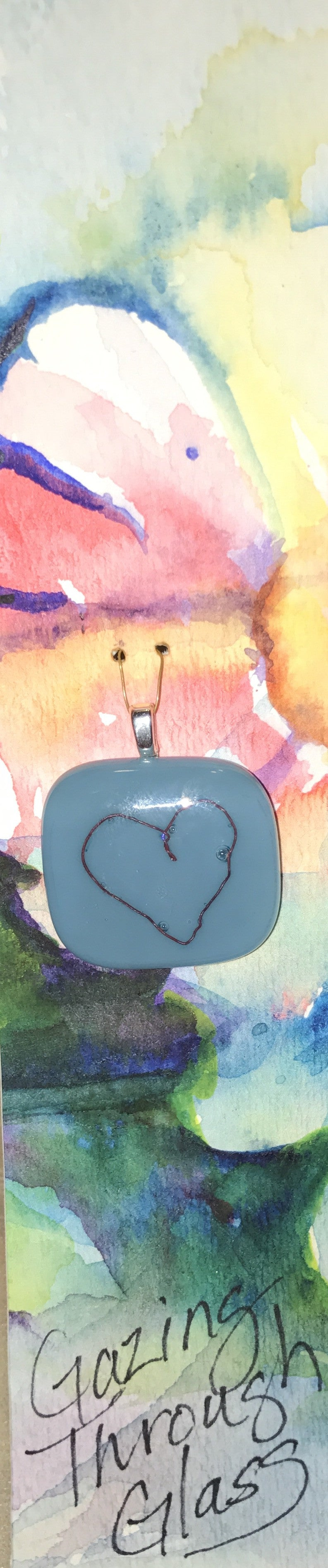 Holding Your Heart Pendant