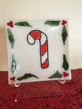 Candy Cane Nesting Plate