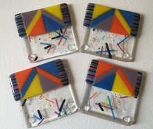 Coaster set - assorted colors available