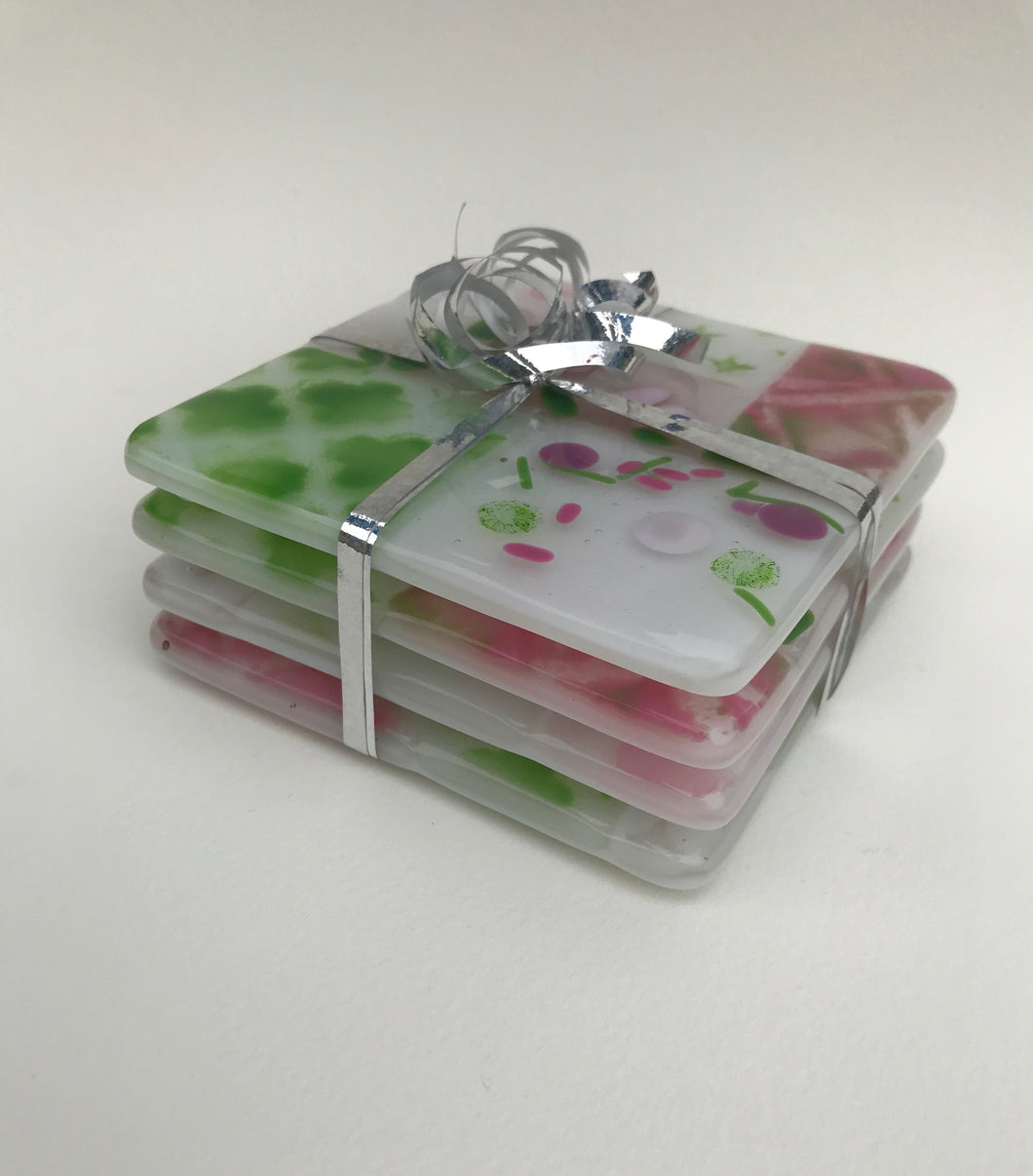 Ladies Glass Fused Coasters