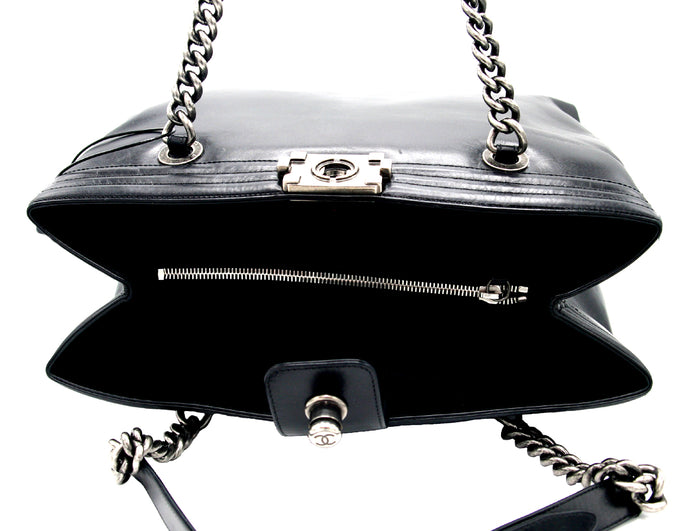 Chanel Chain Strap Leather Handbag