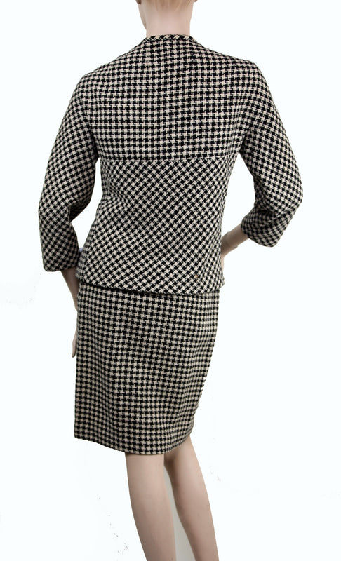 Vintage Checkered Suit
