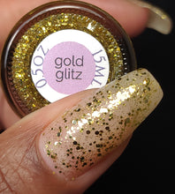 Gold Glitz // The Last Glaze of Summer