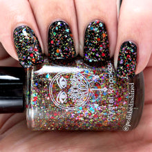 holo rainbow glitter topper nail polish crystal knockout city of rainbows orlando