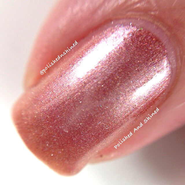 light blush pink shimmer nail polish crystal knockout cloud riders