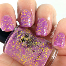pink white crelly thermal color changing mood nail polish crystal knockout flora's chameleons