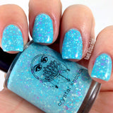 tiffany blue purple crelly nail polish crystal knockout freya's peacocks