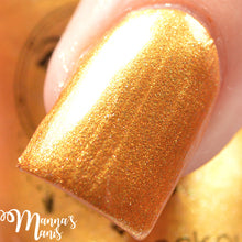 gold shimmer metallic nail polish crystal knockout ghostly chariot wild hunt