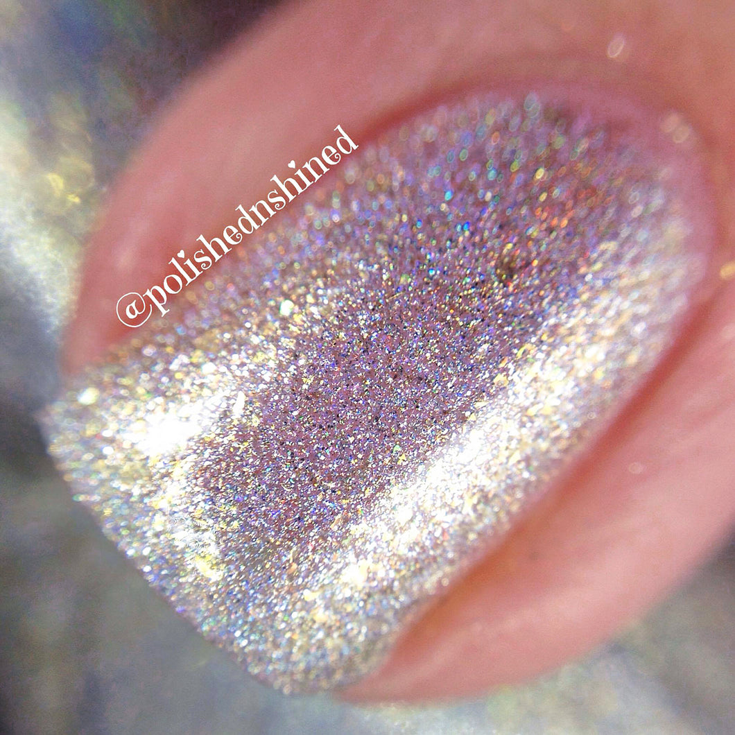 white gold holo shimmer crystal knockout lady of the valley fantasy nymphs