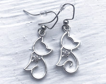 Cat Outline Earrings