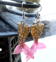 Mermaid Tails - Gold Pink