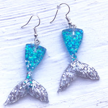 Mermaid Tails - Blue Silver