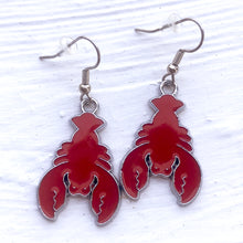 Lobster Dangle Earrings