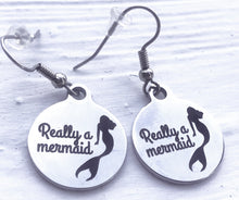 Round Mermaid Earrings