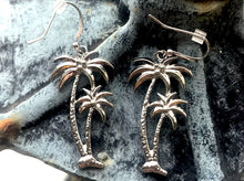 Palm Beach Trees Earrings