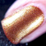 gold multichrome nail polish crystal knockout sip of champagne