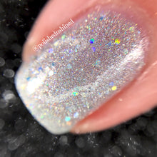 silver holo nail polish crystal knockout totally rad roller rink slammin' 90s