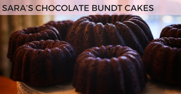 SARA'S DECADENT CHOCOLATE BUNDT CAKES