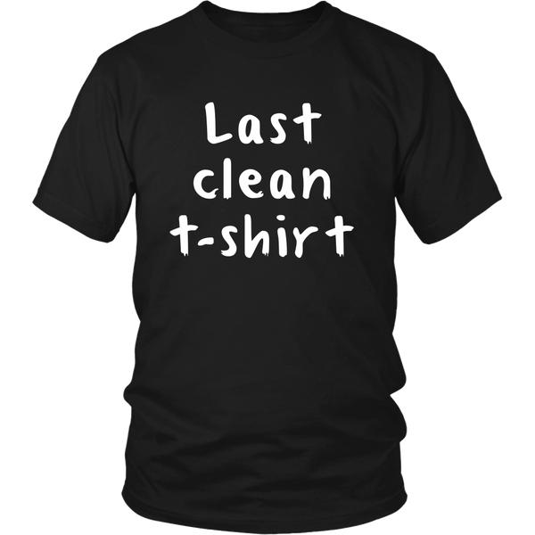 Last Clean T-Shirt (Black)