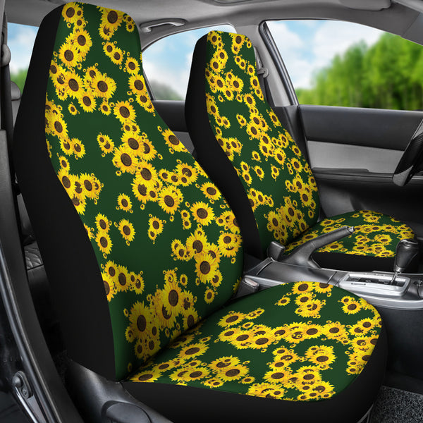 Fantastic Sunflower Car Seat Covers Andrewgaddart Wooden Chair Designs For Living Room Andrewgaddartcom