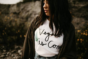 ♡ Vegan Is Cool Tee