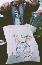 Load image into Gallery viewer, CLEARANCE ◁ Go Vegan Produce Tote