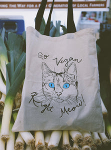 CLEARANCE ◁ Go Vegan Produce Tote