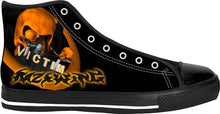 Razrwing Weighing FEAR RW Lettering VICTIM Black High Tops